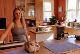 Deb in the kitchen